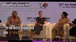 Angelina Jolie: Violence Against Women Is Global Epidemic