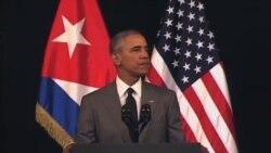 اوباما: با وجود اختلافات فراوان، دست دوستی به سوی کوبا دراز کرده ام