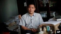 中国知名维权律师浦志强 (资料照片)