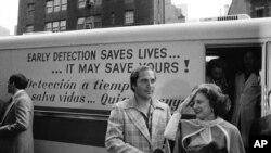 Надпись гласит: «раннее обнаружение спасает жизни»