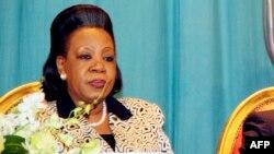 Rais Catherine Samba-Panza wa Jamhuri ya Afrika ya Kati