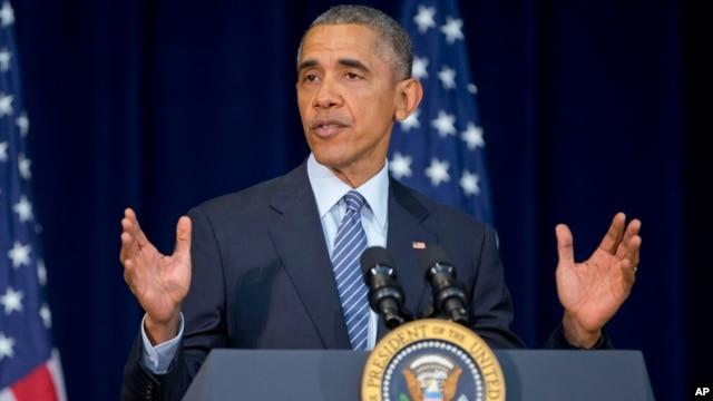 Президент США Барак Обама. Госдепартамент США. 14 марта 2016 г.