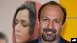 FILE - Iranian director Asghar Farhadi, Oct. 10. 2016. Farhadi has chosen not to attend the Oscars ceremony.