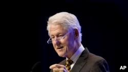 Cựu Tổng thống Bill Clinton.