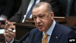 თურქეთის პრეზიდენტი რეჯებ ტაიპ ერდოღანი