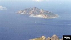 Pulau Senkaku (foto:dok) disebut oleh Tiongkok dengan nama Diaoyu.