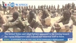 VOA60 Africa - Chad Army Says It Has Stopped Rebel Advance Toward Capital