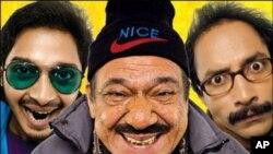 نئی مزاحیہ فلم 'تین تھے بھائی' وقت گذارنے کے لیے بہترین