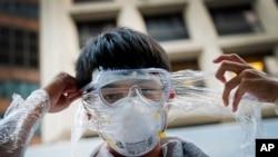Biểu tình đòi dân chủ ở Hồng Kông