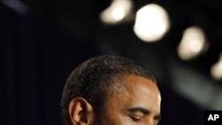 奥巴马总统9月16日在华盛顿附近的汤马斯.杰佛逊科技高中