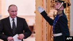 Tổng thống Nga tại điện Kremlin, 27/12/2017