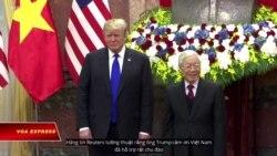 Tổng thống Trump mời Tổng bí thư Trọng thăm Mỹ