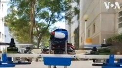 Israel chế tạo drone có thể chạy trên mặt đất