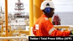 Les autorités angolaises ont inauguré le projet Kaombo, la plus importante opération offshore jamais lancée en Angola, le 10 novembre 2018. (Twitter/Total Press Office)