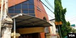 Gereja Sidang Jemaat Pentakosta di Indonesia Eben Haezer, Kota Mojokerto, salah satu sasaran teror bom malam Natal 24 Desember 2000. (VOA/Petrus)