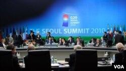 Para pemimpin G20 mengakhiri acara KTT dua hari di Seoul, Korea Selatan hari ini.