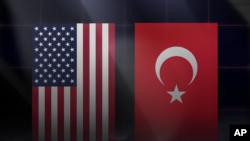 US Turkey Flag