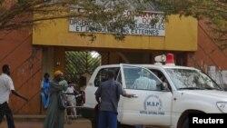 Hopital Donka, Conakry. (Archives).