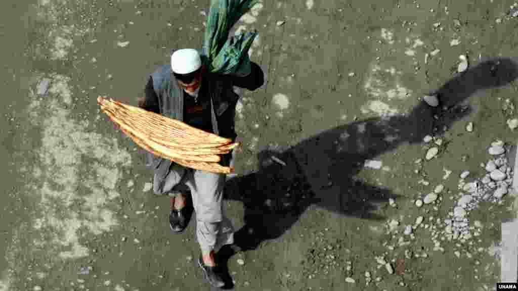 نان گرم افغانستان