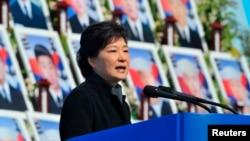 South Korea's President Park Geun-hye, March 26, 2013.