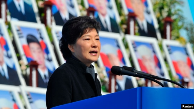 South Korea's President Park Geun-hye, March 26, 2013.