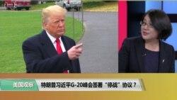 """时事看台(斯洋):特朗普习近平G20峰会签署""""停战""""协议?"""