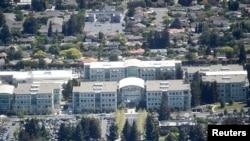 美國加州矽谷的蘋果公司總部(2016年)
