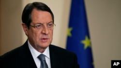Президент Кипра Никос Анастасиадес