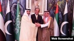 د سعودي عربستان او د متحده عربي اماراتو د بهرنو چارو وزیران د کشمیر په اړه د خبرو لپاره پاکستان ته تللي.