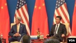 美中戰略與經濟對話在北京釣魚台國賓館舉行開幕式(美國之音東方拍攝)
