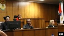 Un procès à la Haute Cour de Pretoria, Afrique du Sud, 15 juin 2016.