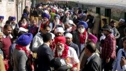 Sikh ဘုရားဖူးေတြအတြက္ အိႏၵိယ-ပါကစၥတန္ နယ္စပ္လမ္းဖြင့္