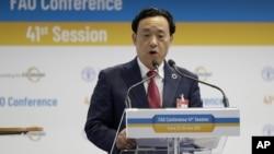 L'ancien vice-ministre de l'agriculture chinois à la tête de la FAO