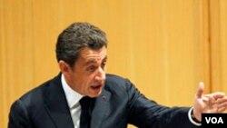 Presiden Perancis Nicolas Sarkozy