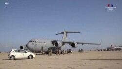 ԱՄՆ-ի օդուժի C-17 ինքնաթիռը օգնություն է հասցրել Լիբանան՝ պայթյունից տուժածներին աջակցելու համար