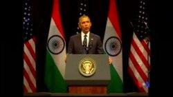 2015-01-27 美國之音視頻新聞: 奧巴馬說美國可成為印度最佳伙伴
