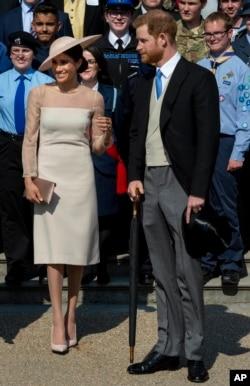 مگان مارکل و پرنس هری در جشن تولد ۷۰ سالگی پرنس چارلز