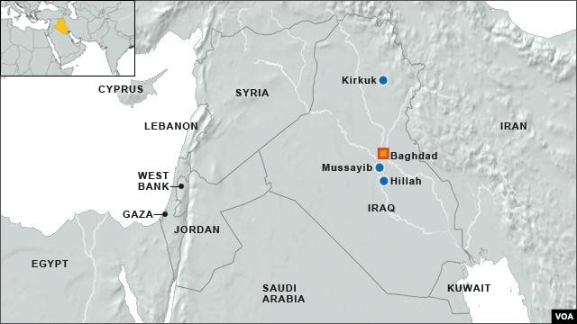 Iraq explosions