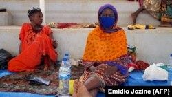 Mulheres deslocadas de Palma, Cabo Delgado, Moçambique