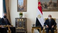 Antony Blinken en visite au Caire