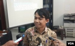 Direktur LBH Pers Ade Wahyudin. (Foto: Sasmito)
