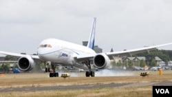 La firma Boeing dijo que espera completar el próximo mes la evaluación del 787.