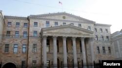 러시아 모스크바의 검찰청 건물 (자료사진)