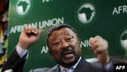 Chủ tịch Liên Hiệp Châu Phi Jean Ping nói liên hiệp muốn được thấy ngưng bắn, bảo vệ thường dân và đáp ứng với đòi hỏi dân chủ của người dân Libya