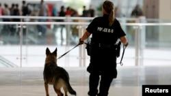 圣迭戈警察在巡逻。(资料照片)