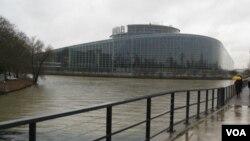 斯特拉斯堡的欧洲议会。