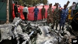 Iranian Plane Crashes in Tehran
