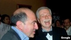 Boris Berezovski və Badri Patarkatsişvili