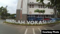 Kampus Sekolah Vokasi UGM di Yogyakarta. (Foto: Humas SV)