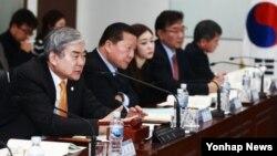 평창동계올림픽대회 및 장애인동계올림픽대회 조직위원회가 9일 서울 중구 을지로 조직위원회 서울사무소에서 제19차 집행위원회를 열고 있다.